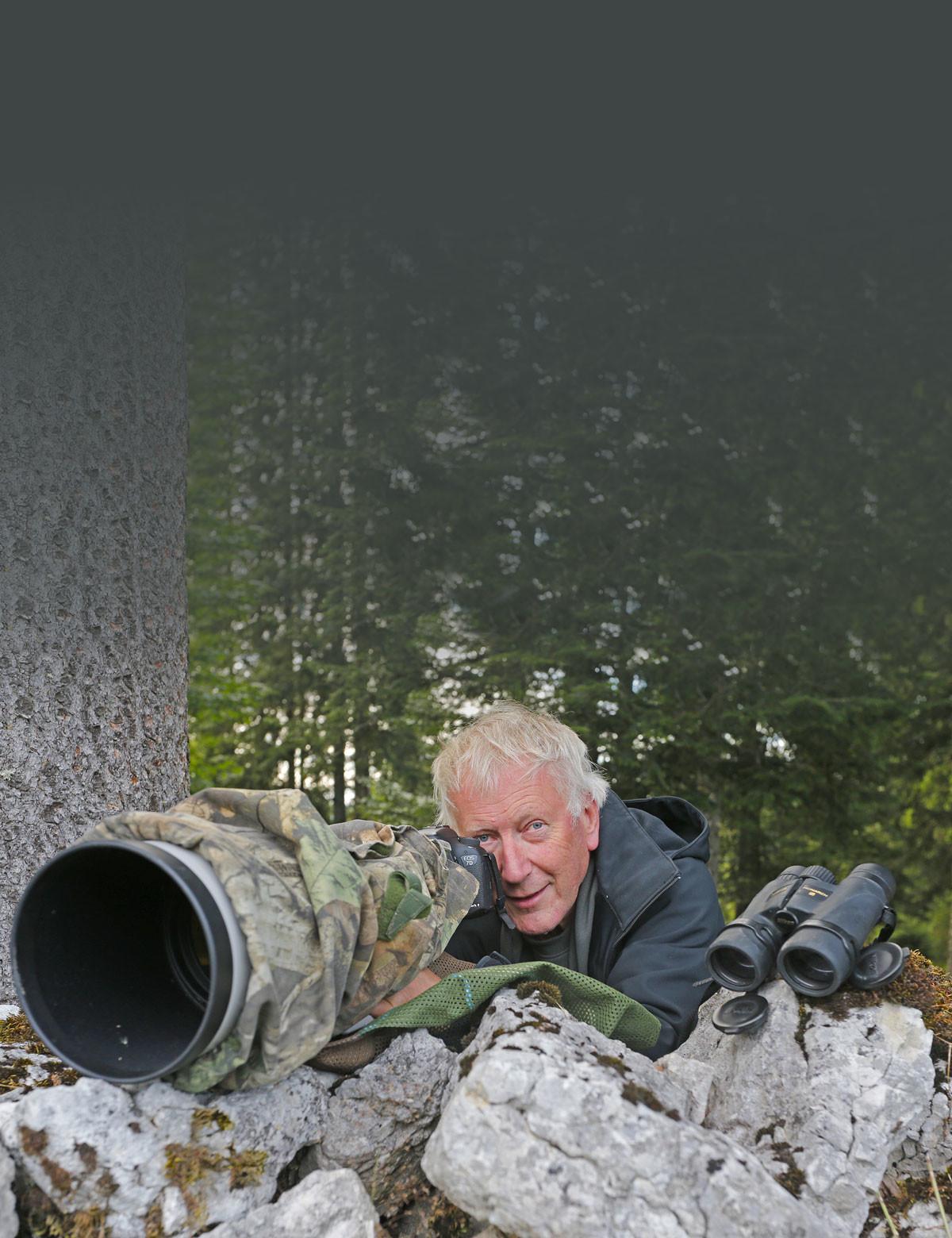 Alain Prêtre, photographe animalier